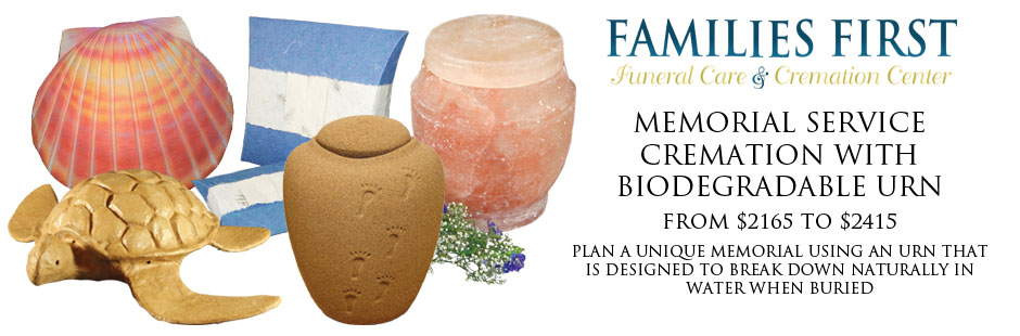 FF_Memorial Service Cremation with Biodegradable Urn